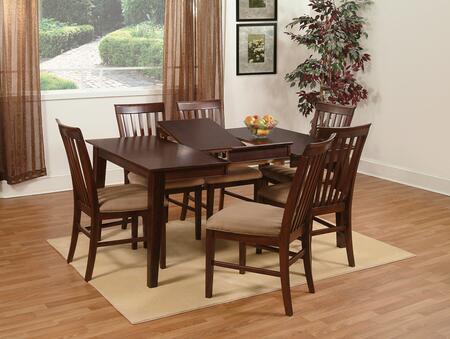 Atlantic Furniture SHAKER4260BTDTES