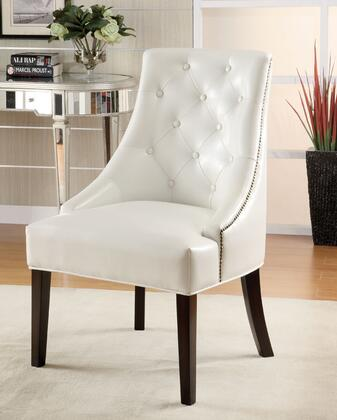 Coaster 900283 Accent Seating Series Armchair Bonded Leather Wood Frame Accent Chair