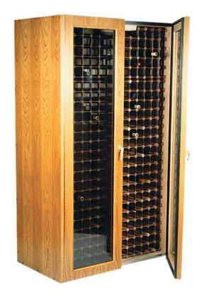 "Vinotemp VINO440TDGWW 38"" Wine Cooler"