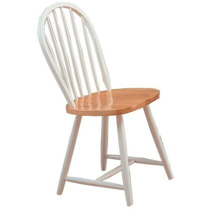 Coaster 4129 Damen Windsor Series  Wood Frame Dining Room Chair