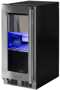 "Marvel MP15CPxxxx 15"" Marvel Professional Clear Ice Machine with Tri-Color Illuminice Lighting, Quietest Ice Machine, Energy Saving Option, Streamlined Componentry and Single Connection, in"