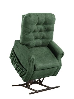 MedLift 1555PEP Contemporary Fabric Wood Frame  Recliners