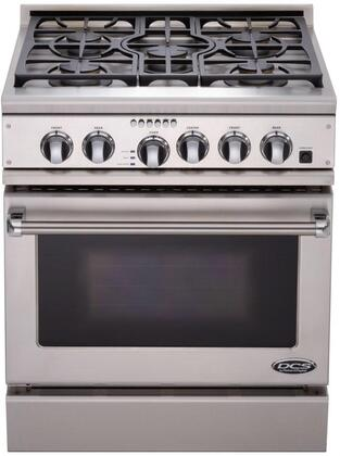 DCS RGTC305SSL  Liquid Propane Freestanding Range with Sealed Burner Cooktop, 4.1 cu. ft. Primary Oven Capacity, in Stainless Steel