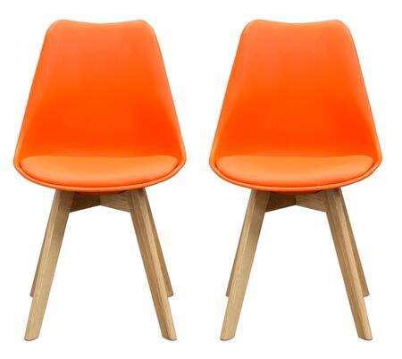 Diamond Sofa CODACHOR Coda Series Contemporary Wood Frame Dining Room Chair