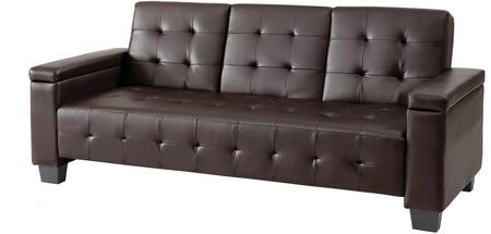 Glory Furniture G745S  Convertible Faux Leather Sofa