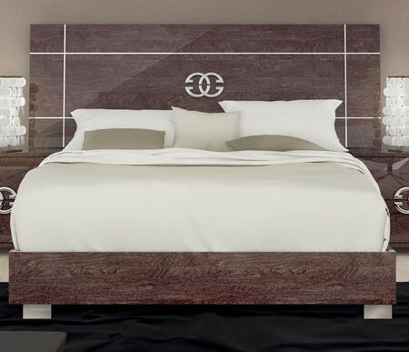 ESF Prestige Classic Collection i759-X Bed in Cognac Birch Finish