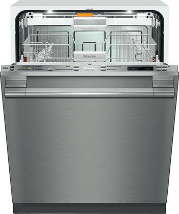 "Miele G6875SCVi 24"" Futura Lumen Series Energy Star Qualified Dishwasher with Hidden Control Panel, 12 Wash Programs, 16 Place Settings, and 42 dBA Quiet Rating, in"