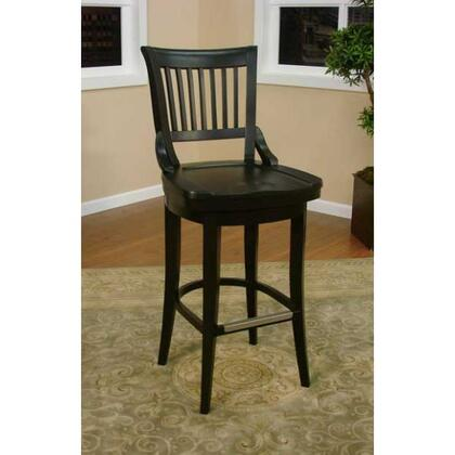 American Heritage 130755BLK Liberty Series Residential Not Upholstered Bar Stool