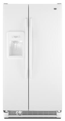 Maytag MSD2573VEW Freestanding Side by Side Refrigerator