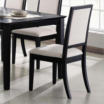 Coaster 101562 Lexton Series Casual Fabric Wood Frame Dining Room Chair