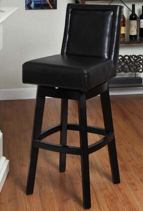 Armen Living LC4048BABL30 Residential Bycast Leather Upholstered Bar Stool