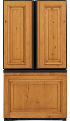 GE PFIC1NFZBV  Counter Depth French Door Refrigerator with 20.9 cu. ft. Total Capacity 5 Glass Shelves