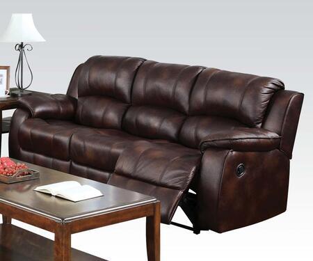 Acme Furniture 50510 Zanthe Series  Microfiber Sofa