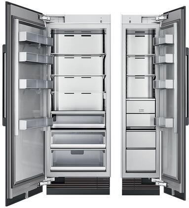 Dacor 868006 Modernist Side-By-Side Refrigerators