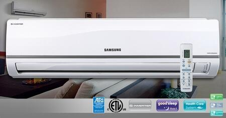 Samsung AQV24NSD Mini-Split Air Conditioner Air Conditioner Cooling Area,