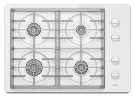 Maytag MGC7630WW  Gas Sealed Burner Style Cooktop