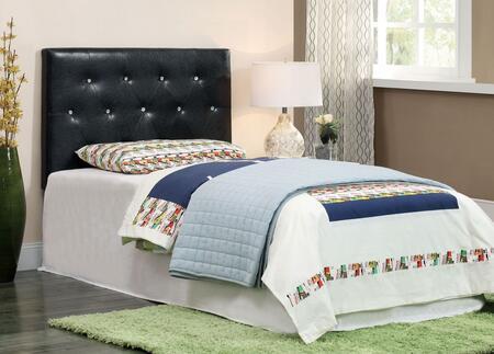 Furniture of America CM7949BKTBED Velen Series  Twin Size Platform Bed