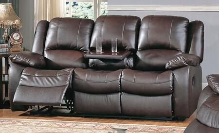 Yuan Tai CL8813SBR Clermont Series Sofa Leather Sofa