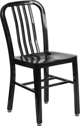 """Flash Furniture Flash Furniture CH-61200-18 18"""" Metal Chair Designed for Commercial and Residential Use in"""
