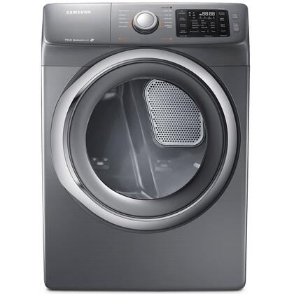 Samsung Appliance DV42H5200E 7.5 cu. ft. Electric Dryer with 11 Drying Cycles, Sensor Dry, Reversible Door, Dryer Drum Light, Steam Drying Technology, Controls Display, Lint Filter Indicator and Smart Care in