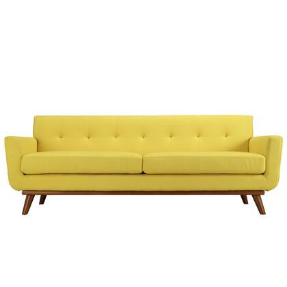 Modway EEI1180SUN Engage Series Stationary Fabric Sofa