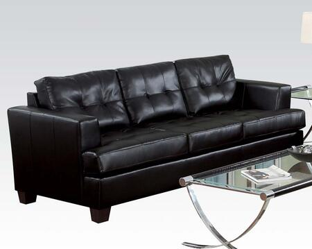 Acme Furniture 15090 Platinum Series Stationary Bonded Leather Sofa