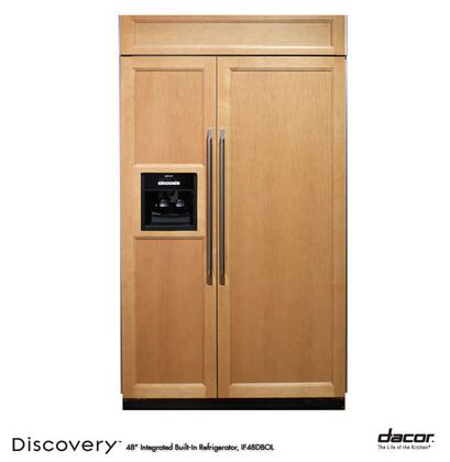 Dacor IF48DBOL Built In Side by Side Refrigerator