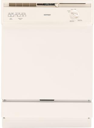 """Hotpoint HDA3600DCC 24"""" Built In Full Console Dishwasher  Appliances Connection"""