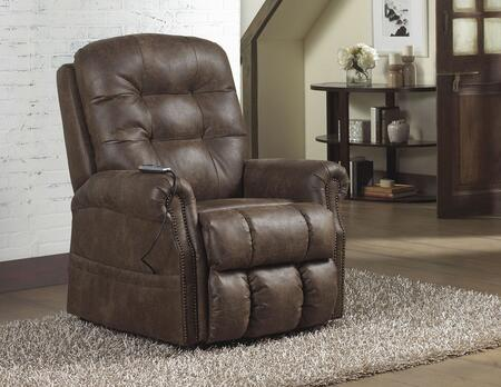 Catnapper 4857122709302709 Ramsey Series Faux Leather Metal Frame  Recliners
