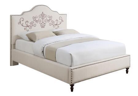 Coaster 300491KE Homecrest Series  King Size Panel Bed