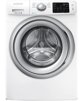 "Samsung WF42H5200AW 27"" 5200 Series 4.2 cu. ft. Front Load Washer, in White"