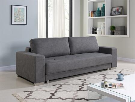 Casabianca TC1215GR Cole Series Chair Sleeper Fabric Sofa