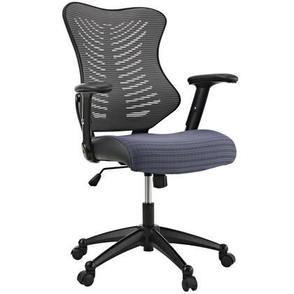 "Modway EEI209GRY 26.5"" Adjustable Contemporary Office Chair"