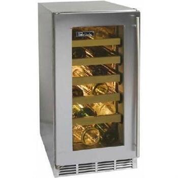 """Perlick HP15WS2LDNU 14.875"""" Freestanding Wine Cooler"""