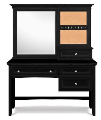 Magnussen Y187448 Bennett Series Desk with Vanity Mirror Childrens  Desk