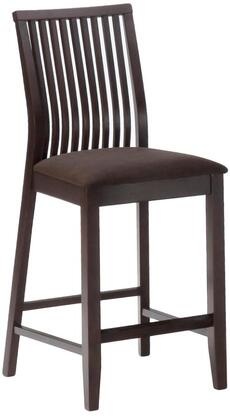 Jofran 471BS374KD Contemporary Fabric Wood Frame Dining Room Chair