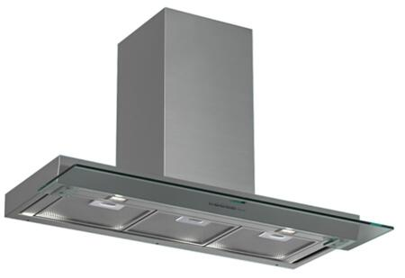 "Futuro Futuro WLxSHADE X"" Shade Series Range Hood with 940 CFM, 4-Speed Electronic Controls, Delayed Shut-Off, Filter Cleaning Reminder, and in Stainless Steel"