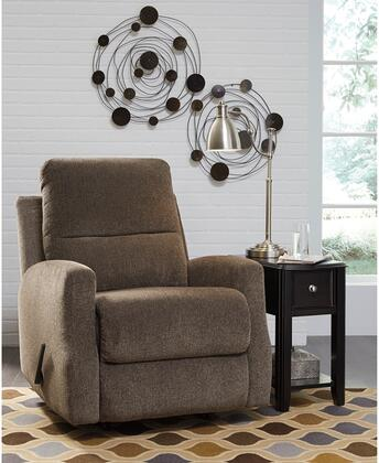 Flash Furniture FSD5599RECTPEGG Fambro Series Contemporary Fabric Metal Frame  Recliners