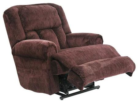 "Catnapper Burns Collection 4847 39"" Power Lift Recliner with Lay-Flat Reclining, Dual Motor Comfort Function, Extra Wide Seating Area, Rolled Arms and Woven Velvet Upholstery"