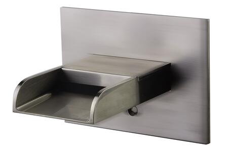 Alfi AB5901-XX Waterfall Tub Filler with Brass, UPC Certification, User-Friendly Installation and 5 Year Warranty in