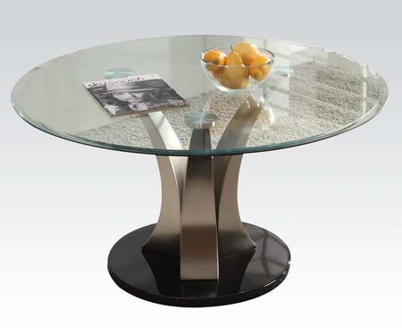 Acme Furniture 18410 Chrome Plated Contemporary Table