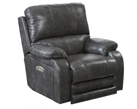 Catnapper 647627115278125278 Thornton Series Contemporary Faux Leather Metal Frame  Recliners