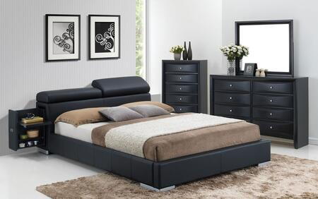 Acme Furniture 20747EK4PC Manjot King Bedroom Sets