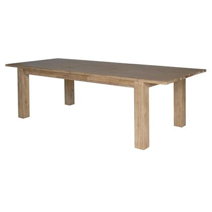 "New Pacific Direct Template: Bedford Collection 801179-85 Butterfly Dining Table with 20"" Extension in Brushed Smoke"