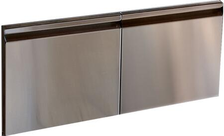 Wolf 81x Double Doors for Built-In Application, in Stainless Steel