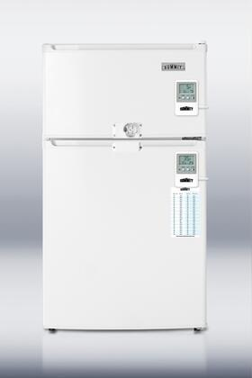 Summit CP35LLF2MEDADA MEDADA Series Compact Refrigerator with 2.9 cu.ft. Capacity in White