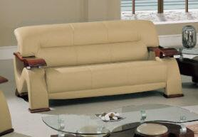 Global Furniture USA 2033RVCAPS  Ultra Bonded Leather Sofa