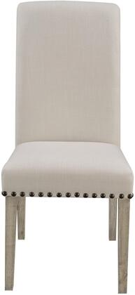 Donny Osmond Home 190152 Taylor Series Modern Fabric Wood Frame Dining Room Chair