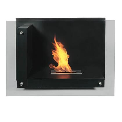 Bio Flame STAFTBK Static Series Vent Free Bioethanol Fireplace