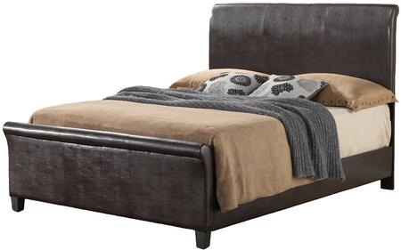 Glory Furniture G2750KBUP G2700 Series  King Size Sleigh Bed